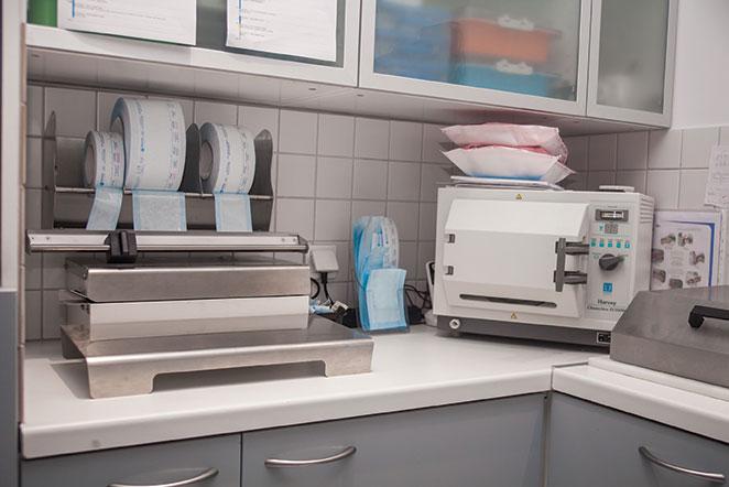 salle de stérilistion - Cabinet Dentaire du Pays Blanc - Saint Molf guérande