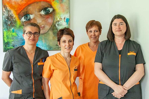 Assistantes dentaires - Cabinet Dentaire du Pays Blanc - Saint Molf guérande