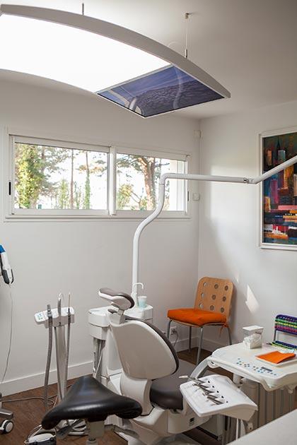Plafonnier LED - Cabinet Dentaire du Pays Blanc - Saint Molf